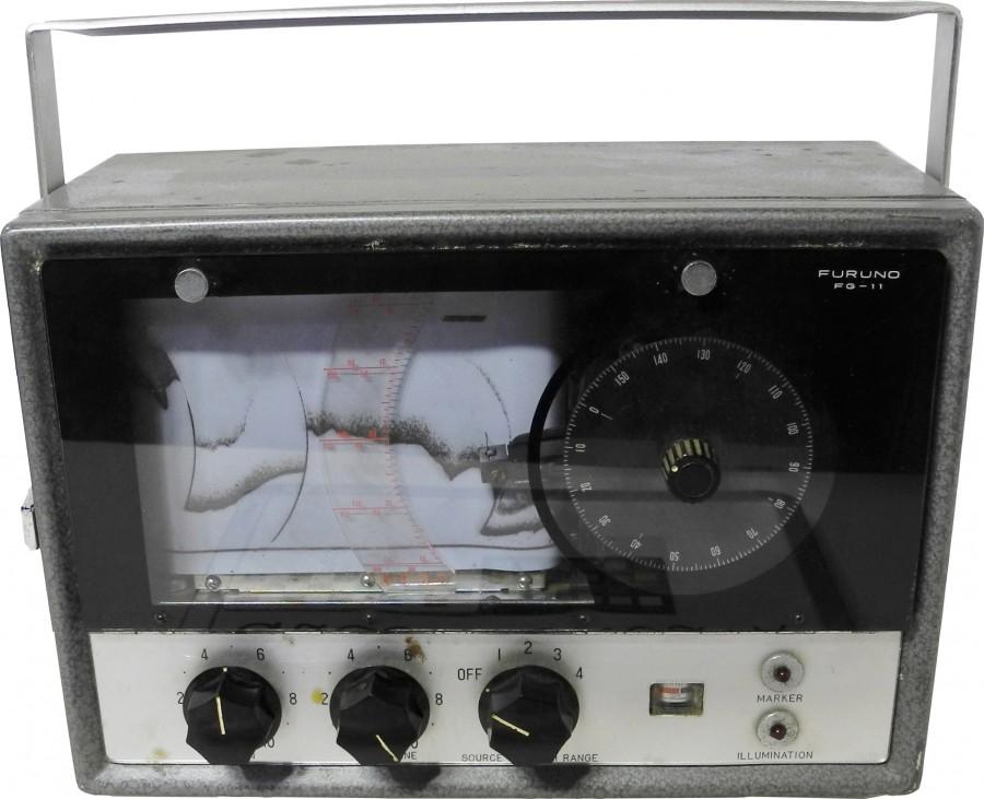 Furuno FG-11 Echo Sounder, used by David Endo onboard the Silver Foam