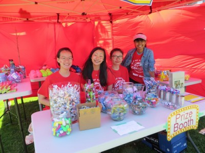 Carnival Volunteers - prize booth
