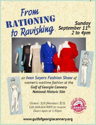 Rationing to Ravishing poster2